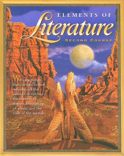 9780030672798: Elements of Literature: Student Edition Grade 8 Second Course 2003