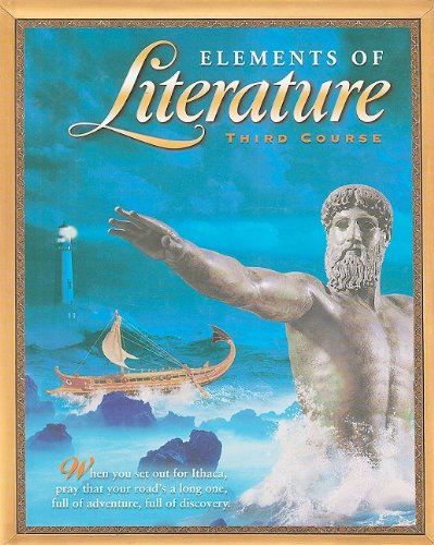 9780030672811: Elements of Literature, Third Course