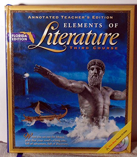 9780030672996: Elements of Literature 3rd Edition: Florida's Annotated Teacher's Edition
