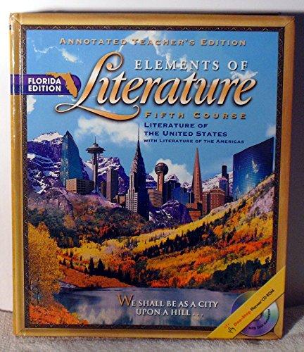 9780030673023: Florida Teacher's Edition Elements of Literature