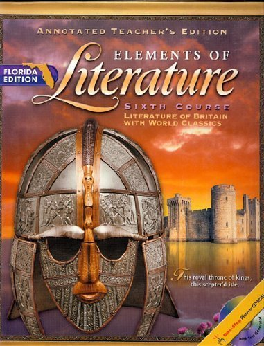 9780030673030: ELEMENTS OF LITERATURE (ANNOTATED TEACHER'S EDITION ELEMENTS OF LITERATURE SIXTH COURSE)