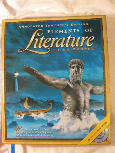 9780030673085: Elements of Literature: Third Course, Annotated Teacher's Edition