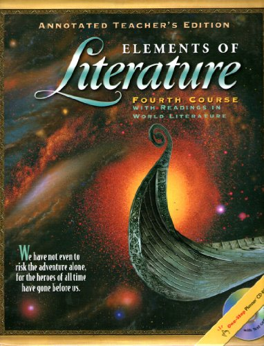 9780030673092: Elements of Literature, Grade 10, Annotated Teacher's Edition