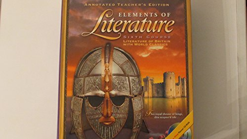 9780030673122: Elements of Literature Sixth Course
