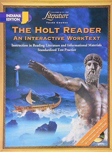 9780030673528: The Holt Reader; An Interactive WorkText(elements of literature, third course)