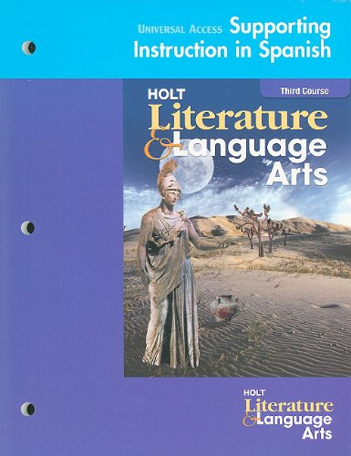 9780030674693: Holt Literature and Language Arts: Universal Access: Support (Spanish) Grade 9
