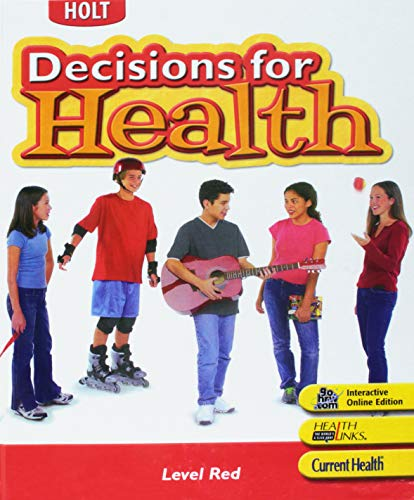 9780030675225: Decisions for Health, Level Red
