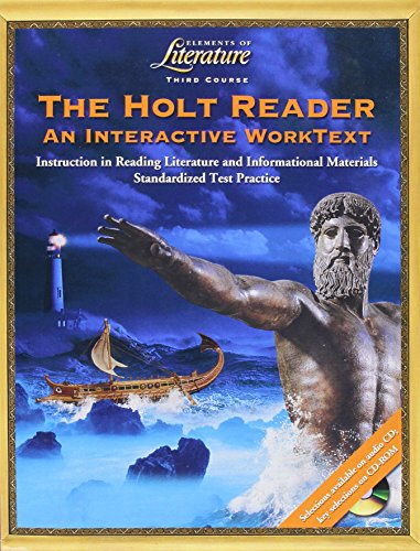 9780030675485: Elements of Literature: Worktext and Student Edition Third Course