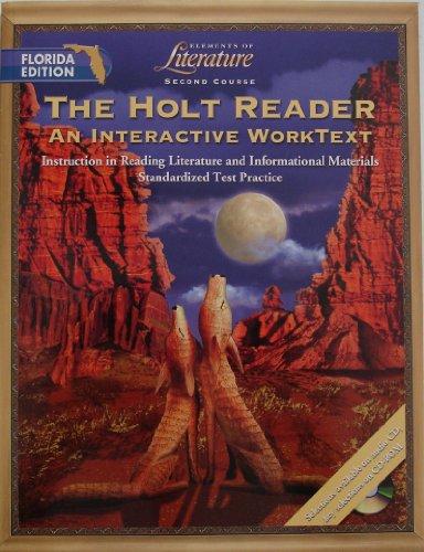 9780030675645: Holt Elements of Literature Florida: Holt Reader: Int Wktxt/Pe Eolit 2003 Grade 8