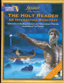 9780030675669: The Holt Reader: An Interactive WorkText, 3rd Course (Elements of Literature)