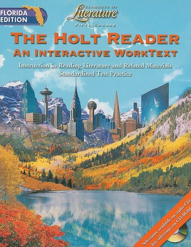 9780030675683: Florida Edition Holt Elements of Literature Reader, Fifth Course: An Interactive Worktext: Instruction in Reading Literature and Related Materials Sta