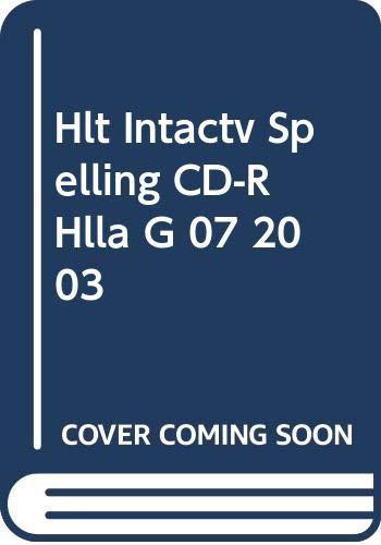 9780030676512: Holt Interactive Spelling CD ROM (Holt, Rinehart and Winston Spelling Tutor, Level 2)