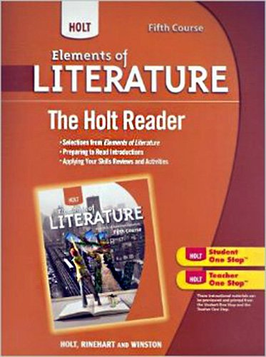 9780030676741: Holt Reader 5th Course: Elements of Literature