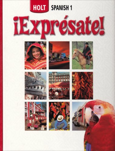 9780030676789: Expresate! Student Edition, Level 1