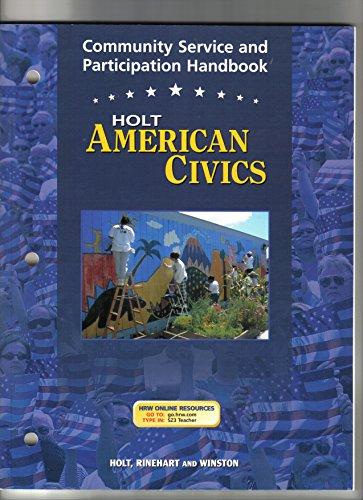 9780030676895: Community Service Hndbk Am Civics 2003