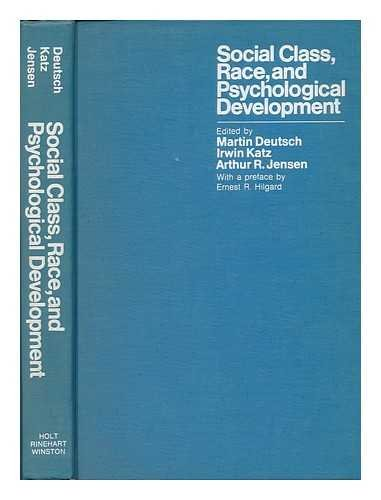 9780030677007: Social Class, Race, and Psychological Development