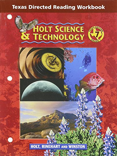 9780030677861: Holt Science & Technology Texas: Dir Reading Workbook Grade 7 Life Science