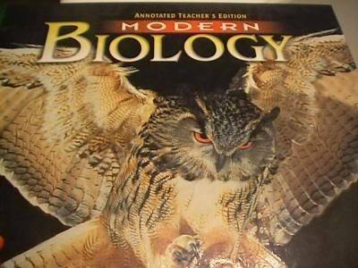 Modern Biology, Annotated Teacher's Edition: Winston, Holt Rinehart &