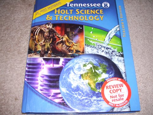 9780030680038: Annotated Teacher's Edition Grade 8 Tennessee Holt Science & Technology
