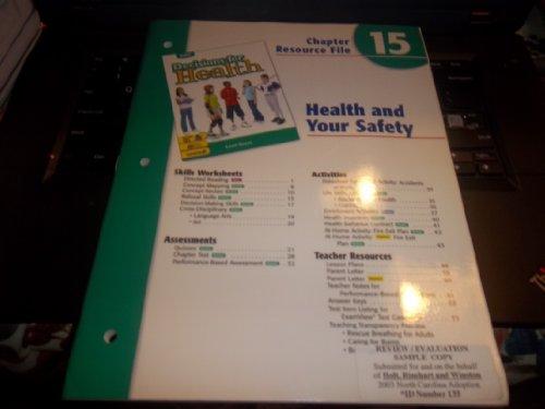 9780030680373: Ch 15 Health/Safety Dechlth 2004 Grn