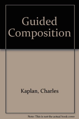 9780030680557: Guided Composition : A Workbook of Writing Exercises
