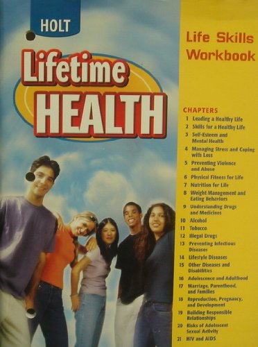 9780030681172: Lifetime Health: Life Skills Workbook
