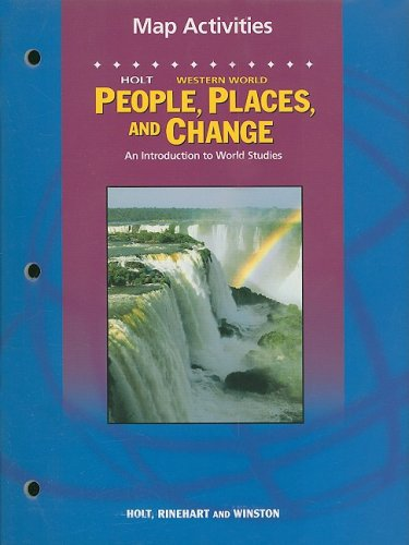 Holt People, Places, and Change: An Introduction: RINEHART AND WINSTON
