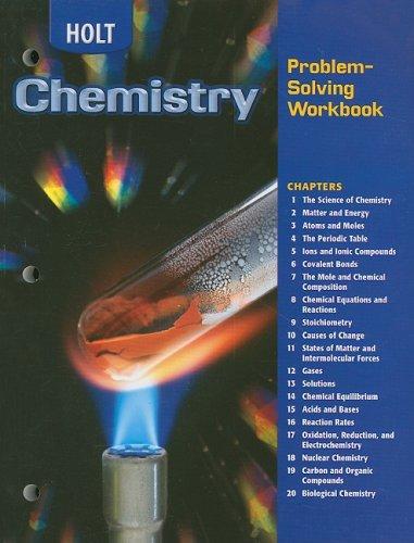 9780030682698: Holt Chemistry Problem-Solving Workbook