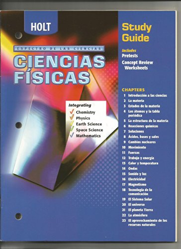 9780030682735: Holt Science Spectrum : A Physical Approach - Spanish Study Guide