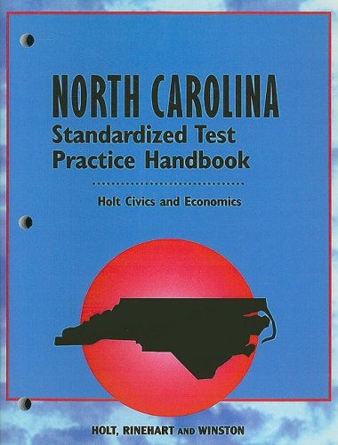 9780030683169: Holt Civics and Economics: North Carolina Standardized Test Practice Handbook