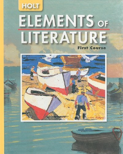 9780030683732: Elements of Literature: Student Edition Grade 7 First Course 2005