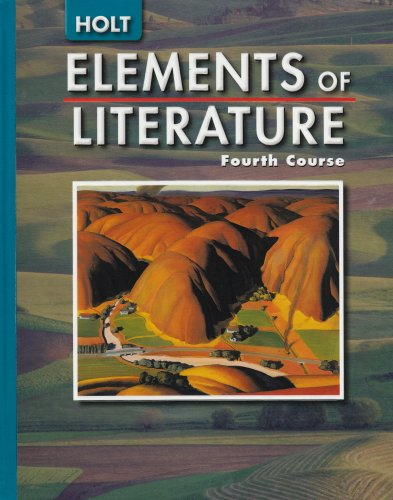 9780030683770: Elements of Literature: Student Ediiton Fourth Course 2005