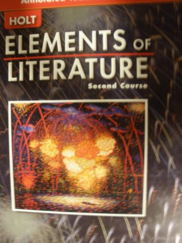 9780030683831: Elements Of Literature Second Course (Annotated Teacher's Edition)