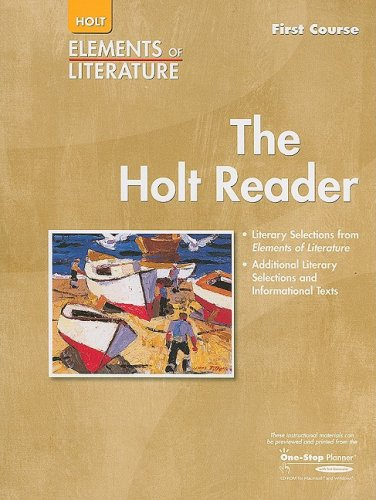 9780030683916: Elements of Literature: Holt Reader, Grade 7, First Course