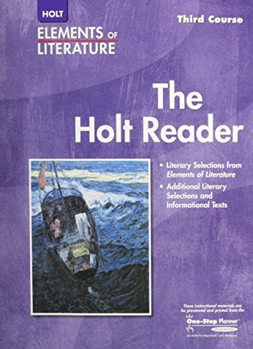 9780030683930: Elements of Literature - Third Course (Holt Reader, Student Edition)