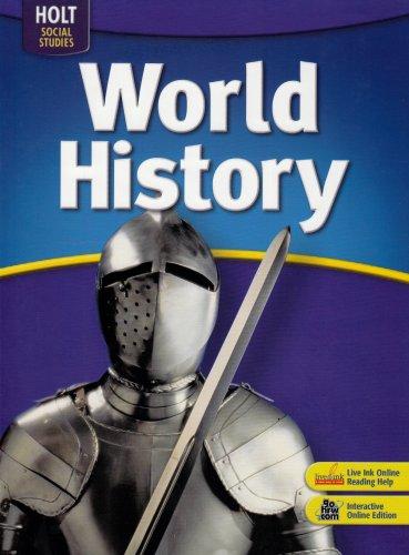 World History: HOLT, RINEHART AND WINSTON