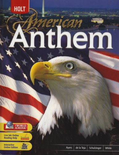 9780030685279: American Anthem: Student Edition 2007