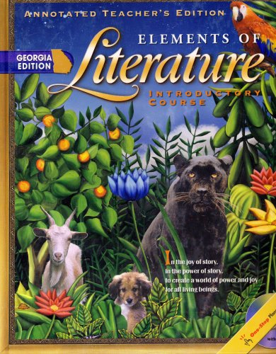 9780030686047: Elements of Literature ~ Introductory Course (Annotated Teacher's Edition)
