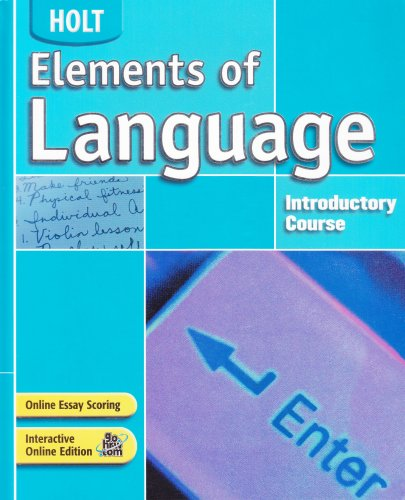 9780030686634: Elements of Language: Student Edition Grade 6 2004
