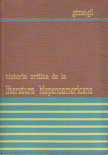 9780030688201: Historia Critica De LA Literature Hispanoamericana