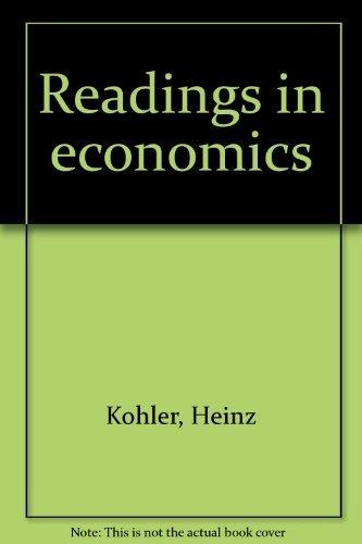 9780030690303: Readings in Economics