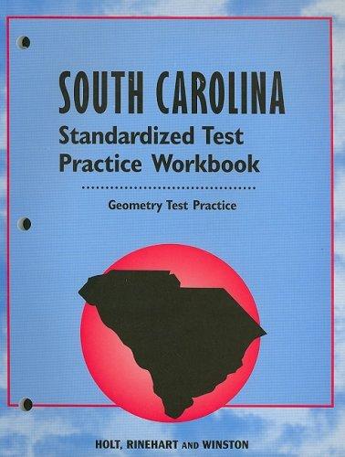 9780030690327: Holt Geometry South Carolina: Standardized Test Practice Workbook Geometry