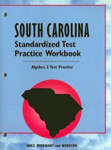 9780030690372: Holt Algebra 2 South Carolina: Practice Workbook Algebra 2