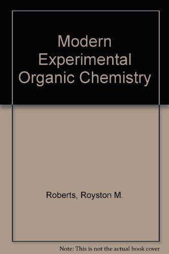9780030691652: Modern Experimental Organic Chemistry