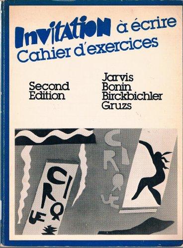 9780030692925: Invitation 'a ecrine Cahier d'exercises