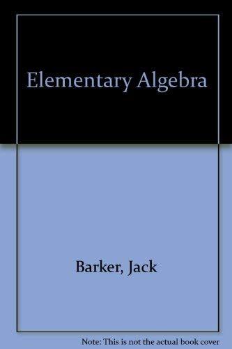 9780030693267: Elementary Algebra