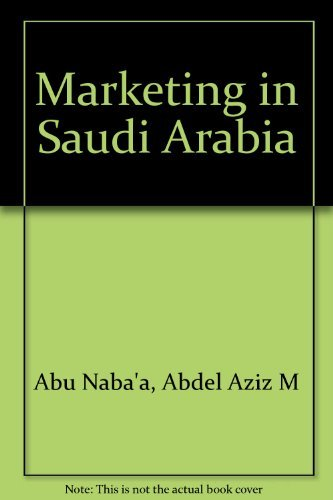 9780030693540: Marketing in Saudi Arabia