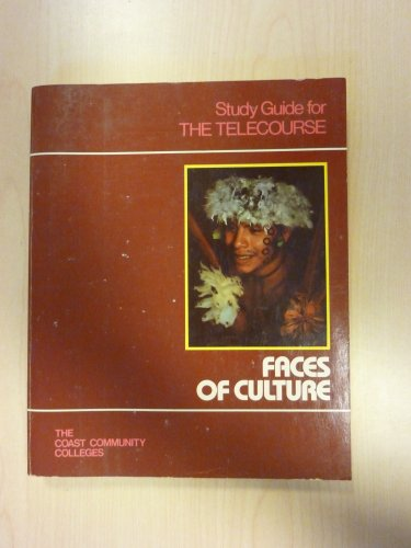 9780030695438: Faces of Culture/Study Guide for the Telecourse