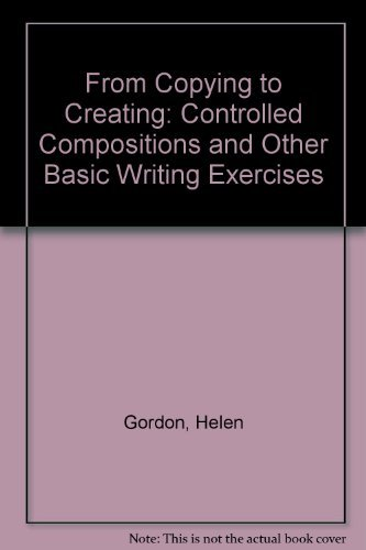 9780030696596: From Copying to Creating