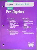9780030696831: Holt Pre-Algebra Chapter 4 Resource Book